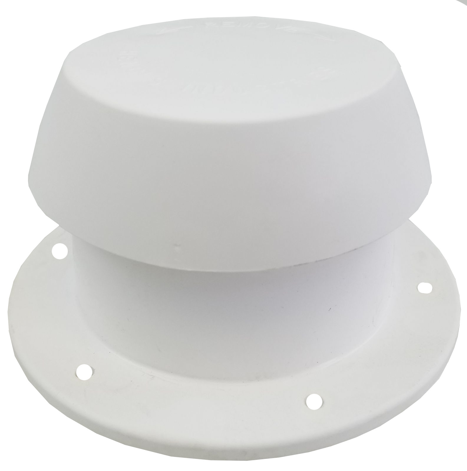 Rv Plastic Plumbing Pipe Cap Polar White By Heng S 10001 C