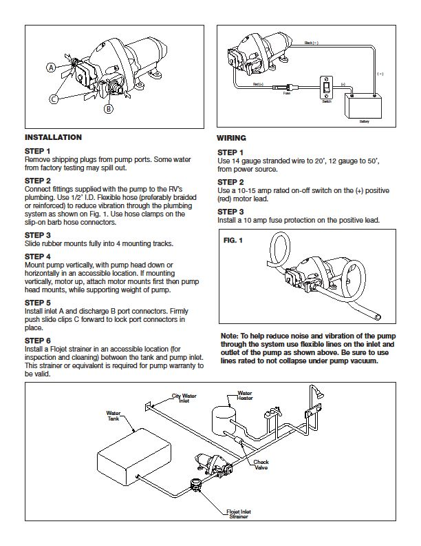 Awe Inspiring Flojet Wiring Diagram Flojet Circuit Diagrams 10 18 Castlefans De Wiring 101 Mentrastrewellnesstrialsorg