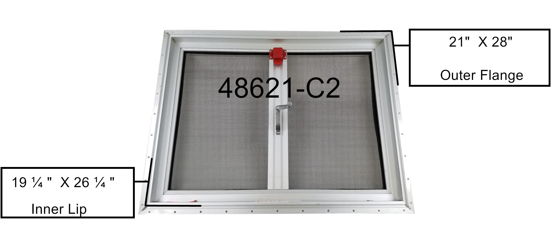 17 X 24 Rv Escape Hatch Roof Vent Heng S 48621 C2 Class A