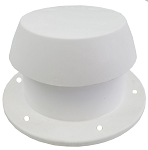 RV Plastic Plumbing Pipe Cap Polar White by Heng's 10001-C