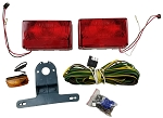 LED Submersible SQ Trailer Light Kit OVER 80