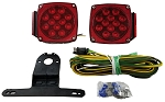 LED Submersible SQ Trailer Light Kit Under 80
