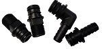 Flojet PORT FITTING SET 20381-001 quad adapter .50 hose