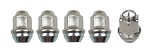 Stainless Steel Cap Lug Nuts 1/2 20 thread