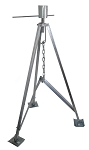 3,500 lb. 5th Wheel Tripod Stabilizer King Pin Jack by Heng's