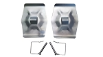 2 Pack Sand Pads for 5th Wheel Landing Gear Legs