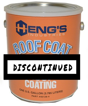 1 Gallon Heng's Rubber Roof Coating - White