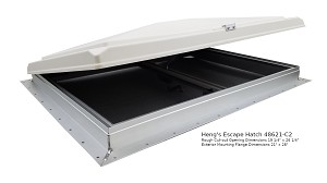 Heng's 48621-C2 RV Escape Hatch Roof Vent