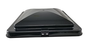 "Heng's 14"" RV Roof Vent Replacement LID ONLY - SMOKE"