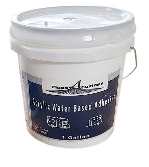 CAC 1 Gallon of Acrylic Water Based Adhesive