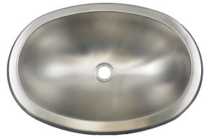 "10"" x 13"" Oval Stainless Steel Sink Single Bowl"