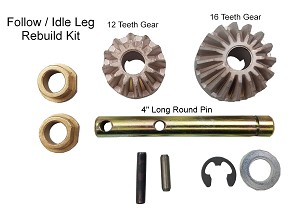 FOLLOW / IDLE 5th wheel Landing Gear Leg Rebuild Kit
